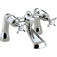 Bristan 1901 Bath Filler with Ceramic Disc Valves - Chrome