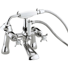 Bristan 1901 Luxury Bath/Shower Mixer with Ceramic Disc Valves - Chrome
