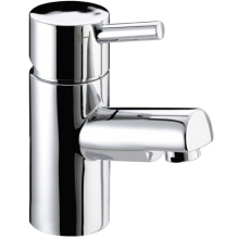 Bristan 74 x 132 x 376mm Prism Basin Mixer (without waste) Chrome