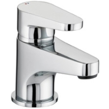 Bristan 75 x 140 x 380mm Quest Basin Mixer without waste Chrome