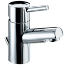 Bristan 78 x 136 x 378mm Prism Basin Mixer with Eco-Click and pop-up waste