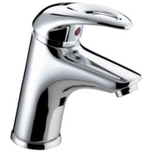 Bristan 80 x 135 x 375mm Java Basin Mixer With Eco-Click Pop-Up Waste Chrome