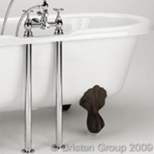 Bristan Bath Shroud Covers 590mm Chrome