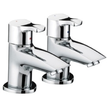 Bristan Capri 3/4 Bath Taps Chrome