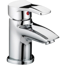 Bristan Capri Basin Mixer with Pop-Up Waste 129mm x 92mm Chrome