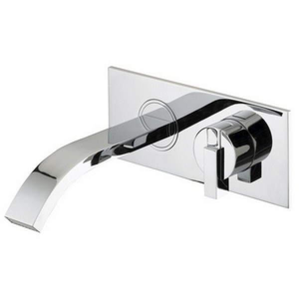 Bristan Chill Wall Mounted Bath Filler 260mm x 240mm Chrome
