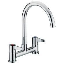 Bristan Design Utility Lever Deck Sink Mixer Chrome