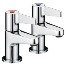 Bristan Design Utility Lever Taps 110mm Chrome