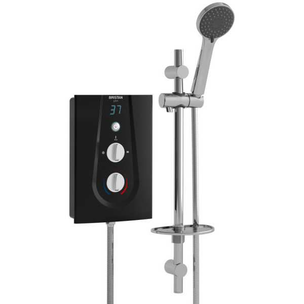 Bristan Glee 8.5kW Electric Shower - Black