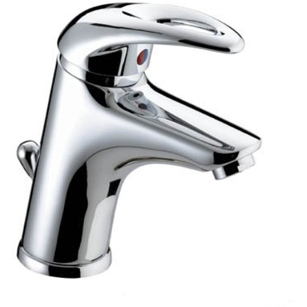 Bristan Java Basin Mixer Tap 96mm X 166mm X 238mm With Pop