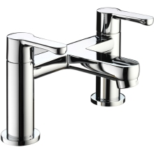 Bristan Nero Bath Filler Chrome