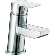 Bristan Pisa Basin Mixer Tap Includes Clicker Waste Chrome Plated
