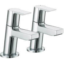 Bristan Pisa Basin Taps Chrome