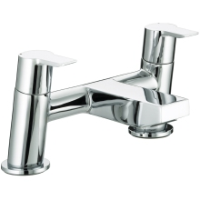 Bristan Pisa Bath Filler Taps Chrome