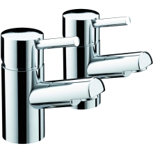 "Bristan Prism 3/4"" Bath Taps 78mm x 144mm x 262mm Chrome"