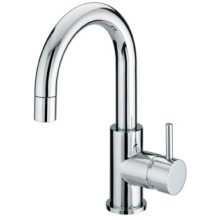 Bristan Prism Slide Action Basin Mixer With Pop-up Waste Chrome