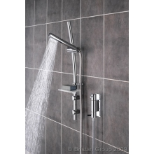 Bristan Prism Thermostatic Vertical Mixer Shower With Adjustable Riser 685mm - Chrome