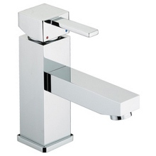 Bristan Quadrato Basin Mixer with Eco-Click (without waste) Chrome