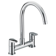 Bristan Quest Deck Sink Mixer - Chrome