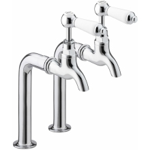 Bristan Renaissance Bib Taps 110mm High Chrome