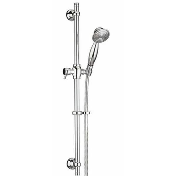 Bristan Shower Kit 770mm Adjustable Riser - Chrome