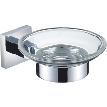 Bristan Square Soap Dish - Chrome