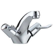 Bristan Value Lever Basin Mixer Tap Chrome