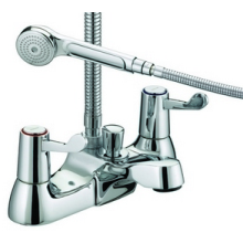 Bristan Value Lever Bath/Shower Mixer Tap - Chrome