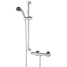 Bristan Zing Cool Touch Thermostatic Bar Valve Mixer Shower - Chrome