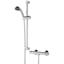 Bristan Zing Cool Touch Thermostatic Bar Valve Mixer Shower with Fast Fit Connections - Chrome