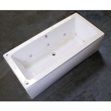 Bronte Ivessa 1700 Double Ended 10 Jet Whirlpool Bath