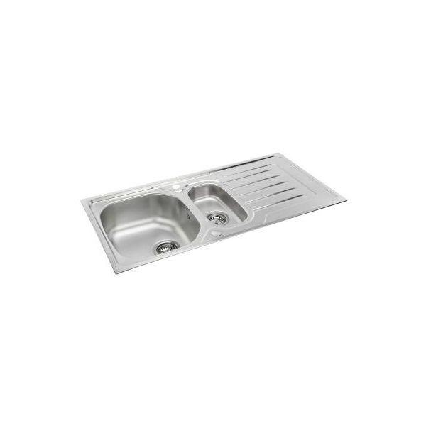 Carron Phoenix Onda 150 Inset Polished Stainless Steel Sink