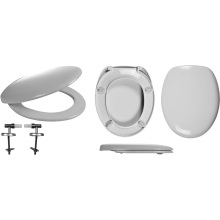 Celmac Wirquin Fusion Toilet Seat Soft Close with Top Fix Hinge Lock+