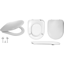Celmac Wirquin Maestro Toilet Seat with Stainless Steel Bottom Fix Hinge Lock+