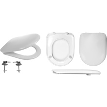 Celmac Wirquin Maestro Toilet Seat Soft Close with Top Fix Lock+