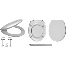 Celmac Wirquin Melody Toilet Seat with Stainless Steel Bottom Fix Lock+
