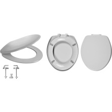 Celmac Wirquin VIP Toilet Seat with Stainless Steel Bottom Fix Hinge Lock+