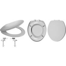 Celmac Wirquin VIP Toilet Seat Soft Close with Top Fix Lock+