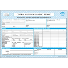 Central Heating Cleansing Record CP34