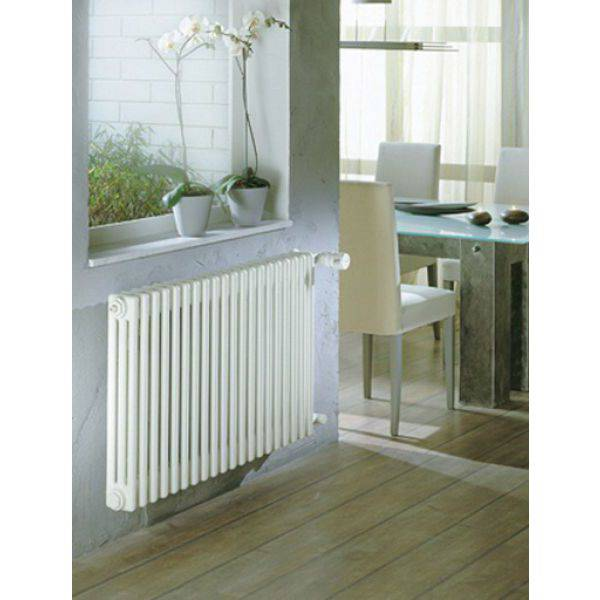 Zehnder Charleston Multi-Column 2 Column 492 x 486mm Horizontal Radiator White
