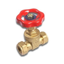 COMAP C X C Gatevalve 22mm Brass