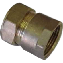 Compression Coupler 10mm X 3/8^Fi