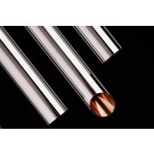 YCT Copper Tube Table X 3M x 28mm Chrome