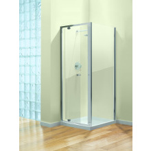 Coram GB Pivot Enclosure Door 760mm - Plain Glass