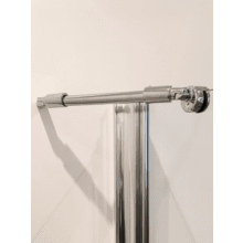 Coram Optima Enclosure Fixing Bracket - Chrome