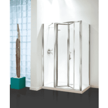 Coram Optima In-Line Enclosure Panel 1200mm - Satin Glass