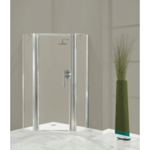 Coram Optima Enclosure Pentagon Panels 900mm - Plain Glass