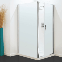 Coram Optima Pivot Enclosure Door 800mm - Satin Glass