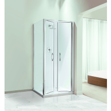 Coram Premier Double Pivot Enclosure Door 900mm - Plain Glass