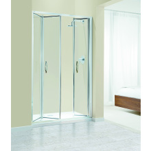 Coram Premier Trifold Enclosure Door 1200mm - Chrome/Glass